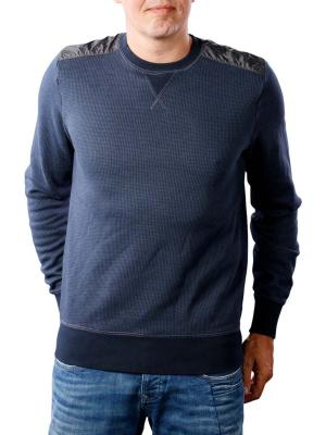 Tommy Hilfiger Houndstooth sweatshirt sky captain