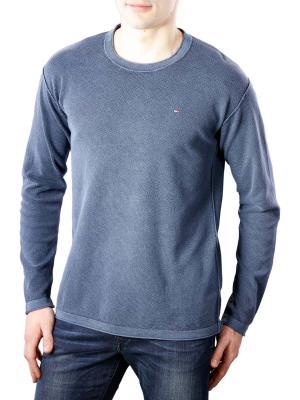 Tommy Jeans Waffle Sweater black iris