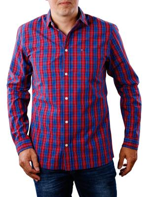 Tommy Jeans Essential Mini Check Shirt surf the web/multi