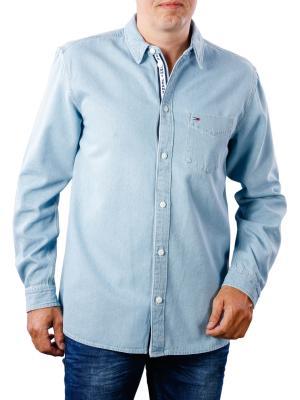 Tommy Jeans Clean Denim Shirt light indigo