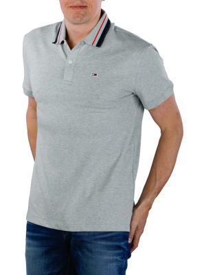 Tommy Jeans Classics Stretch Polo light grey heather