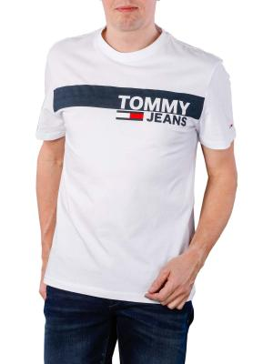 Tommy Jeans Essential Box Logo T-Shirt classic white