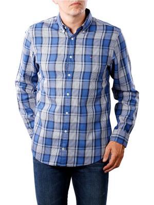 Tommy Hilfiger Midscale Heathered Check Shirt blues
