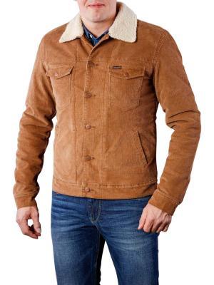 Wrangler Sherpa Jacket bison washed