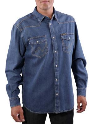 Wrangler Classic Western Shirt indigo