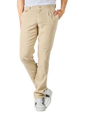 Alberto Ken Pants Linen Slim light beige