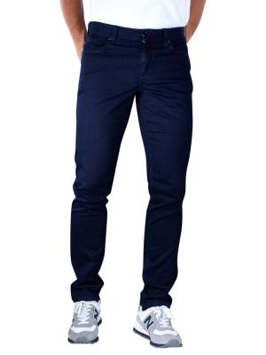 Alberto Pipe Jeans Slim DS Overdyed navy