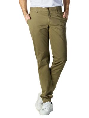 Alberto Lou Pants Slim Compact Cotton green