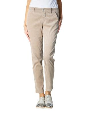 Angels Chino Pants Cropped Pleat beige
