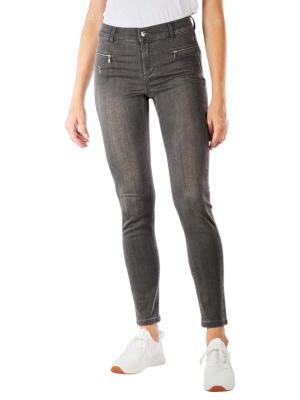 Angels Malu Zip Jeans Slim Fit grey used