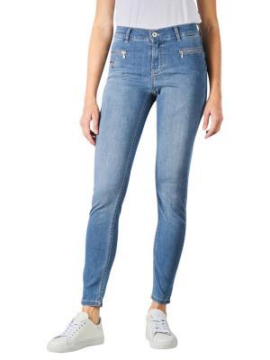 Angels Malu Zip Jeans Slim Fit light blue used