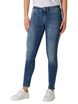G-Star Lynn Mid Super Skinny Jeans faded blue