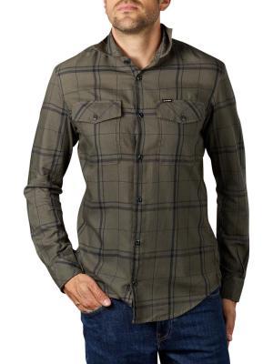 G-Star Marine Slim Shirt grey check
