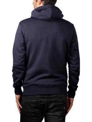 Gant Original Sweater Hoodie evening blue