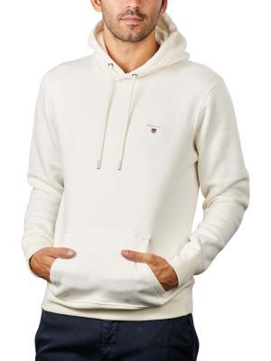 Gant Original Sweater Hoodie eggshell