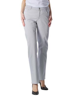 Brax Carola Jeans Straight Fit grey melange