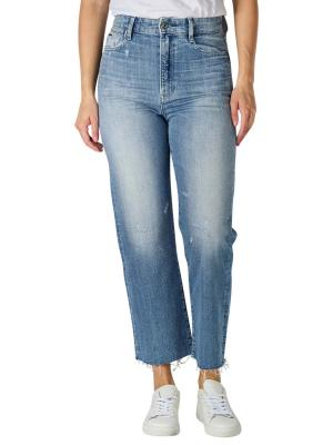 G-Star Ultra High Tedie Jeans Straight Fit sun faded ice fog