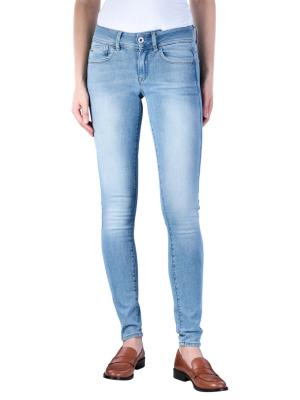 G-Star Lynn Mid Super Skinny Jeans sun faded blue