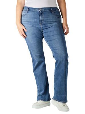 Levi's 725 Jeans Bootcut Plus Size lapis speed plus