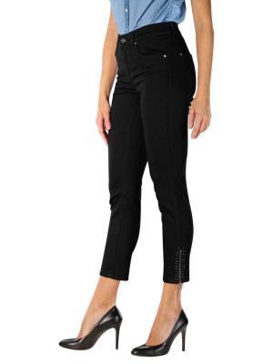 Angels Skinny Jeans Ankle Zip black