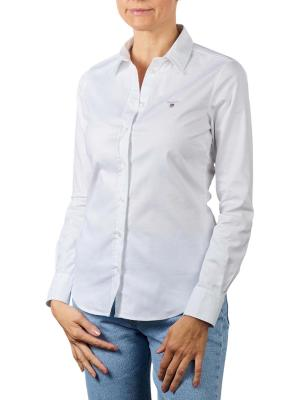 Gant Stretch Oxfort Solid Blouse white