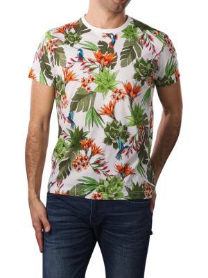Gant Humming Garden SS T-Shirt eggshell
