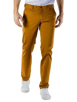 Alberto Lou Pant Pima Cotton dark yellow
