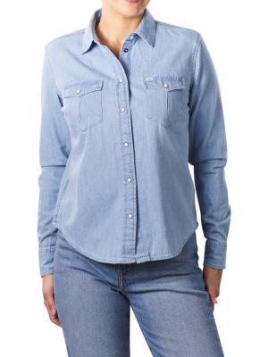 Lee Western Shirt Regular summer blue