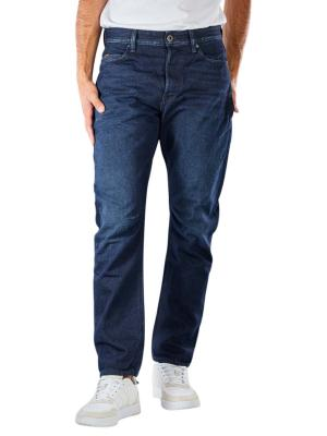 G-Star A-Staq Jeans Tapered Fit worn in deep marine