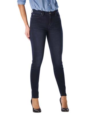 Lee Scarlett High Jeans Skinny worn ebony