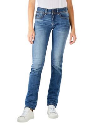 G-Star Midge Straight Jeans medium indigo aged