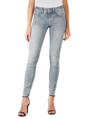 G-Star Lynn Mid Skinny Jeans faded industrial grey