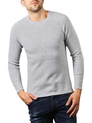 Gabba Lamp O-Neck Pullover light grey melange