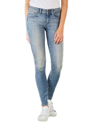 G-Star Midge Zip Mid Skinny Jeans vintage aged destroy