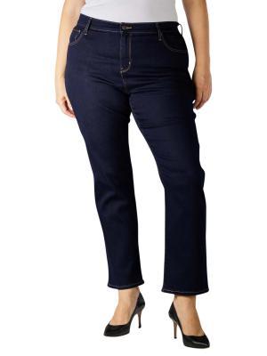 Levi's 724 Jeans High Rise Straight Plus Size cast shadow