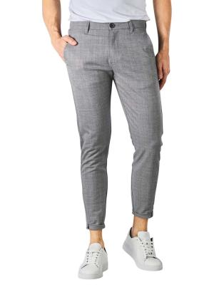 Gabba Pisa Cross Pants Cropped light grey