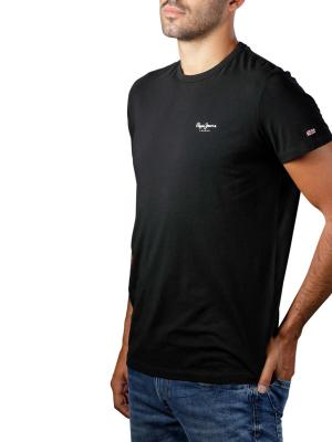 Pepe Jeans Original Basic T-Shirt 3 Base Lycra black