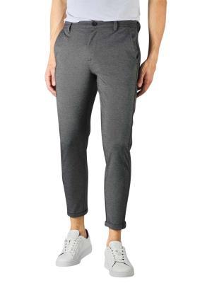 Gabba Pisa Jersey Pants Cropped light grey melange