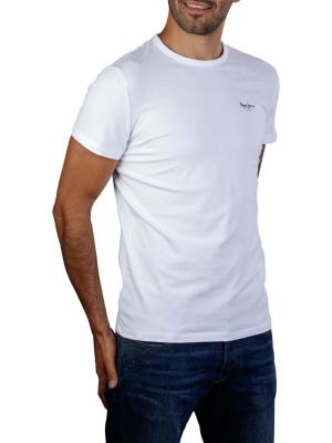 Pepe Jeans Original Basic T-Shirt 3 Base Lycra white