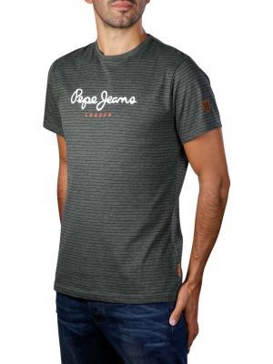 Pepe Jeans Wilmer Nake Jersey Shirt washed black