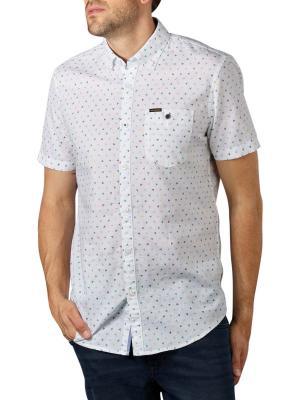 PME Legend Short Sleeve Shirt Cotton Line bright white