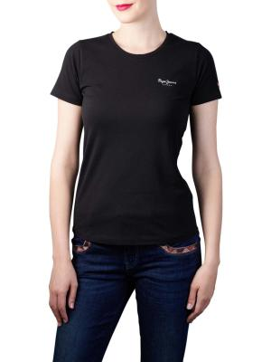 Pepe Jeans Esther T-Shirt Basic Lycra black