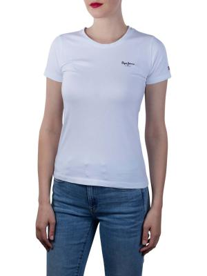 Pepe Jeans Esther T-Shirt Basic Lycra white