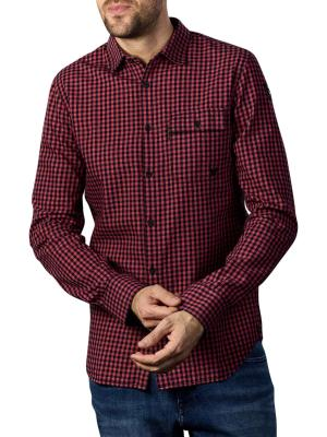 PME Legend Longsleeve Shirt Flannel Check mineral red