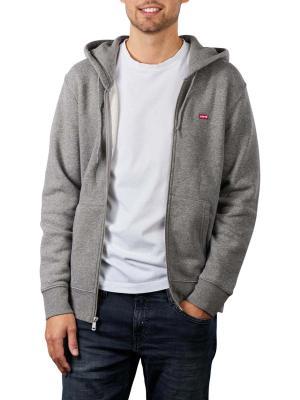 Levi's Zip Hoodie chisel grey heather