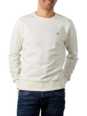 Gant Original Sweater Crew Neck eggshell