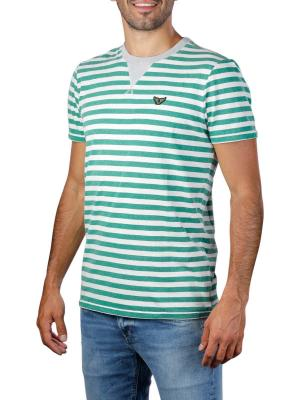 PME Legend Short Sleeve R-Neck OE Yarn Striped 6253