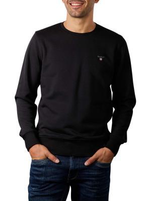 Gant Original Sweater Crew Neck black
