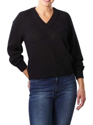 Marc O'Polo Pullover V-Neck Longsleeve black