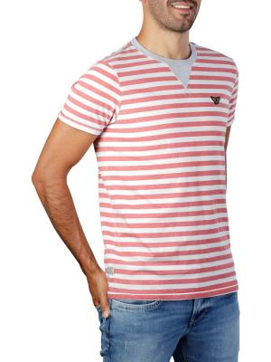 PME Legend Short Sleeve R-Neck OE Yarn Striped 3068